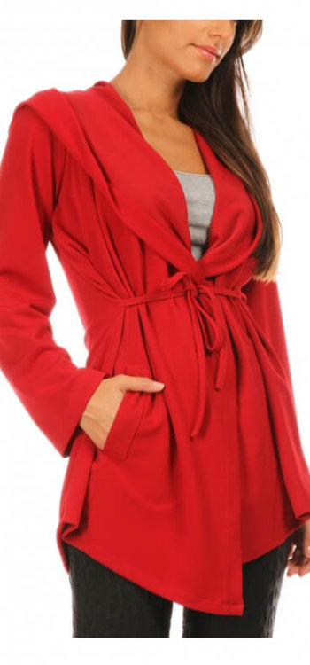 Eva Tralala Rudy jacket in red