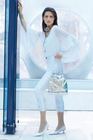 Joseph Ribkoff purses - Silver gloss